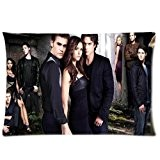 Generic Custom Vampire Diaries Taie d'oreiller Taille standard 16 x 24 Deux Tailles