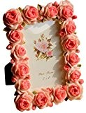 Giftgarden Cadre Photo Carré Cadre Original Rose Stlye Romantique 10x15 Cm