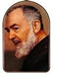 "Gigglewick Gifts Padre Pio Plaque murale décorative ""image de Padre Pio. Padre Pio Rosary.Saint Padre Pio (Pius de Pietrelcina Lot ..."
