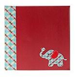Goldbuch album photos 'Eléphant', couverture lin rouge, 31x30 cm, 60 pages, 27240