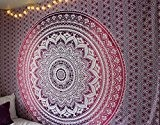 Grand Mandala Tapisserie, Tapisserie pourpre, rose Tapisserie, Orange Tapisserie, Hippie Tapisserie, pique-nique Blanket, tenture murale, Boho Tapestries