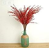 GT Fleurs artificielles Branche unique, jasmin, fleurs décoratives