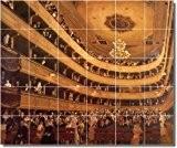 Gustave Klimt Historical sol pour carrelage Motif 6. 54x 64,8cm à l'aide (30) 4,25x 4,25Dalles en céramique.