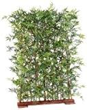 Haie artificielle Bambou Japanese Plastique UV feuillage dense -intérieur extérieur - H.150cm vert - taille : 150 cm