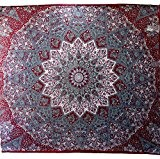 Handicrunch psychédélique Tapisserie Tapisserie murale hippie mandala de la tapisserie murale à la maison de décoration décoration