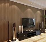 HANMERO Papier Peint Moderne Simple Uni Intissé Flocage pour Chambre Salon Bureau cafe