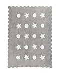 Happy Decor Kids hdk-204 Tapis lavable Little Waves, gris, 120 x 160 cm