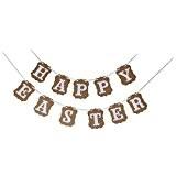 Happy Easter Guirlande Bannière Banderole Décoration de Pâques