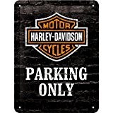 Harley Davidson Parking Only signe d'acier (na 2015)