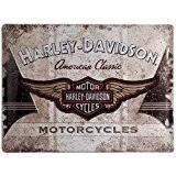 Harley-Davidson Plaque en métal AMERICAN CLASSIC, 40 x 30 cm