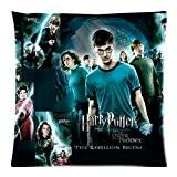 Harry Potter avec fermeture Éclair Motif Housses de Coussin Taies d'oreiller 18 x 18 cm (Twin sides)