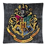 Harry Potter Poudlard école Gryffondor signe Ravenclaw Poudlard Serpentard Taie d'oreiller Taie d'oreiller Coussin Oreiller Couverture Sham cas d'oreiller pour ...