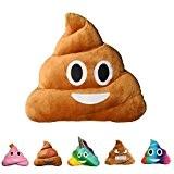 Haufi® rockt! Coussin Emoji d'émoticône en forme de crotte – Coussin confortables en forme de crotte (caca), la tendance de ...