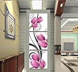 Haut de gamme peinture maison frameless peinture décorative salon salle à manger chambre triple peintures de paysages , type 1