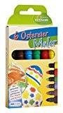 Heitmann œufs couleurs 60008–malstifte peindre de Pâques, Lot de 6