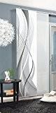 Home Fashion 87152-703 Panneau Japonais Polyester H:245 x W: 60 cm - GRIS