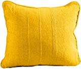 """Homescapes Oreiller ou Coussin """"Rajput"""" de Luxe de 60 x 60 cm en pur Coton de couleur Turquoise"""