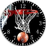 Horloge murale basket-ball 25,4cm joli cadeau et de Chambre Décoration murale 118