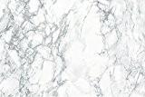 Hornschuch Papier adhésif motif marbre Gris 45 cm x 1,5m
