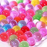 Hosaire Lot de 10/1000pcs(Env.) perles d'eau multicolore pour la décoration de vases
