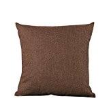 Housses de Coussin Taie d'oreiller Canapé Simplicité Classique et Doux pour décoration de Salon Chambre à Coucher Voiture Club