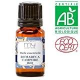 Huile essentielle de romarin à camphre BIO - MyCosmetik - 10 ml