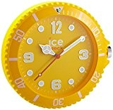 Ice-Watch - IWF.YW - Horloge Murale - Quartz Analogique - Cadran Jaune - Diamètre : 28 cm