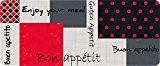 ID Mat 50120 Enjoy Tapis de Cuisine Fibre Polyamide/PVC Multicolore 120 x 50 x 0,4 cm