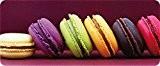 ID Mat 50120 Macarons Tapis de Cuisine Fibre Polyamide/PVC Violet 120 x 50 x 0,4 cm