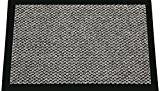 ID Mat 608002 Cahors/Florac Tapis Paillasson Fibre Polypropylène/PVC Gris 80 x 60 x 0,67 cm