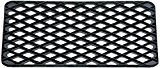 ID Mat M5 Grille Caillebotis Caoutchouc Noir 58 x 33 x 1 cm