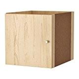 IKEA Kallax utilisation avec porte avec effet bouleau?; (33x 33cm)?; Compatible avec Expedit