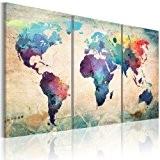 Impression sur toile 120x60 cm - 3 pieces - Image sur toile - Images - Photo - Tableau - motif ...