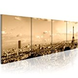 Impression sur toile 200x90 cm - Grand format! - 4 pieces - Image sur toile - Images - Photo - ...