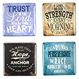 Inspiration graphique Magnet Frigo Vintage-Lot de 4