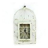 INTASTE Décorations murales LOFT Nordic Retro à faire l'ancienne horloge murale en cage d'oiseau en fer Bell Wall Decoration Retro ...