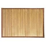 InterDesign 81132EU Formbu Tapis de Bain Bambou Naturel 61 x 43 cm