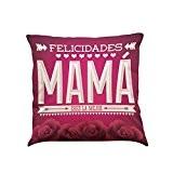Jamicy® Je t'aime maman canapé-lit Maison décoration Festival Coussin Housse de coussin (G)