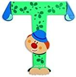 JANOD - Lettre Clown T