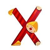 JANOD - Lettre Clown X