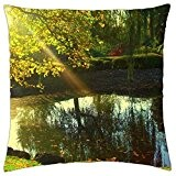 Japanese Garden - Throw Pillow Cover Case (18