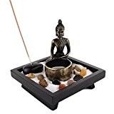 JARDIN ZEN JAPONAIS - Bouddha Méditation - Bougie et Encens - Déco Zen