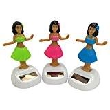 Jouet Solaire Objets de décoration Voiture Rabat Danse Flip Maison Danseur Bobble - Fille
