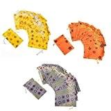 JZK® 24 (trois couleurs) x non-tissé anti-poussière Voyage Drawstring Petit Bijoux Candy Toys Multipurpose Sacs sachets à la Mode pliables ...