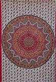 kesrie Mandala Star Tapisserie Murale Hippie Bohemian style Decor coloré Vibrant Home Accessoire