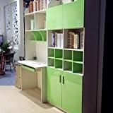 KINLO 0,61 x 5M Autocollant PVC auto-adhésif armoires de cuisine / porte/meubles/Mur - Vert