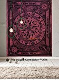 Kit de Tapisserie Motif celtique Cycle unique de âges Suspension Murale Mandala Art Decor tapisseries Hippie ou Résidence 213,4 x 139,7 cm ...