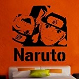 """Kult Kanvas 60 x 61 cm Monster High8 Naruto Shippuuden """"Sticker mural en vinyle, Rose, jaune, 60 x 61 cm ..."""
