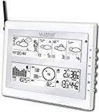 La Crosse Technology WM9280 Station Pro-familiale avec prévisions Météo Time - Blanc