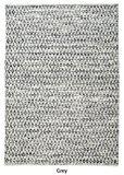 """La République Tapis fait main Gris en laine et coton Bedford Tapis (7'couvert de """"x 5' .3""""), 1pièce"""